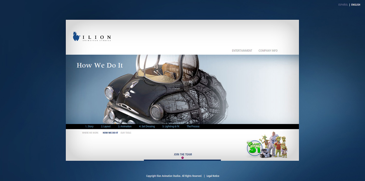 Diseño Ventana How We Do It web Ilion