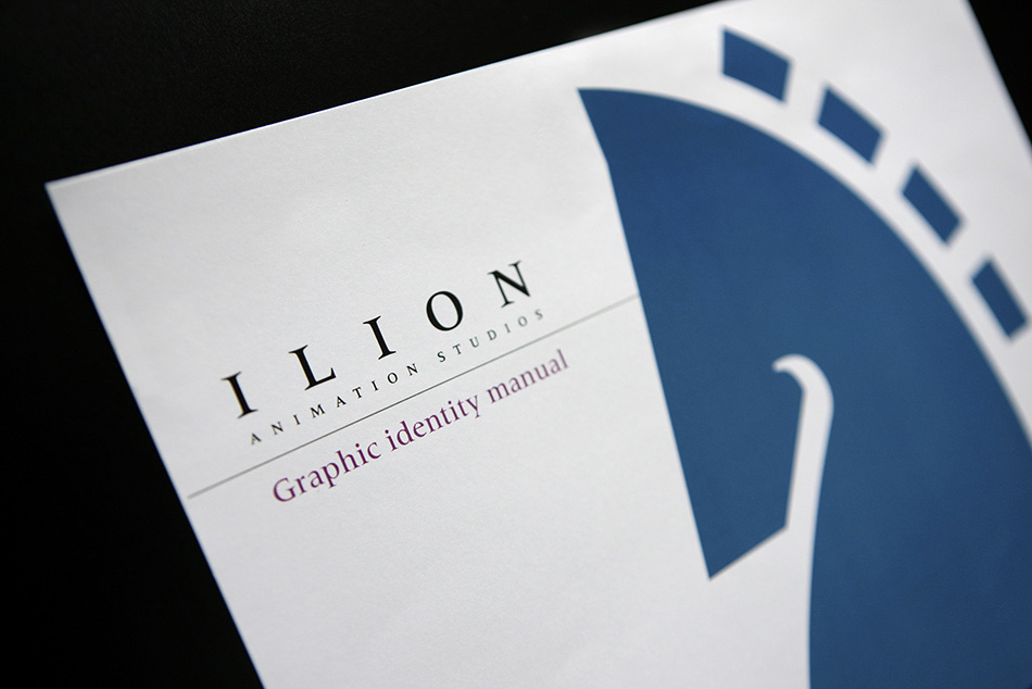 Portada manual de identidad ilion