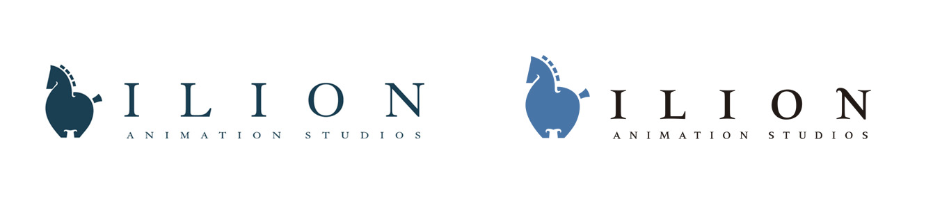 Restyling logotipo Ilion Animation Studios